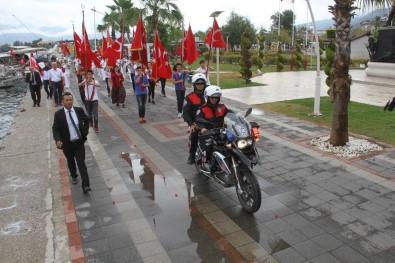 Fethiye'de 19 Mayıs Coşkuyla Kutlandı