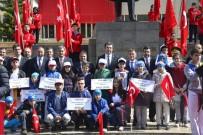 GÜMÜŞHANE ÜNIVERSITESI - Gümüşhane'de 19 Mayıs Atatürk'ü Anma, Gençlik Ve Spor Bayramı Kutlandı