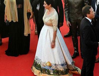 İsrailli bakan Miri Regev'den skandal elbise