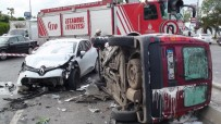 SAHİL YOLU - Kartal Sahil Yolunda Kaza Açıklaması 6 Yaralı