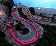 OSMAN BUDAK - Konyaaltı Varyantı 400 Metrelik Türk Bayrağıyla Kaplandı