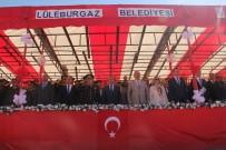 DANS GÖSTERİSİ - Lüleburgaz'da 19 Mayıs Atatürk'ü Anma, Gençlik Ve Spor Bayramı Coşkuyla Kutlandı