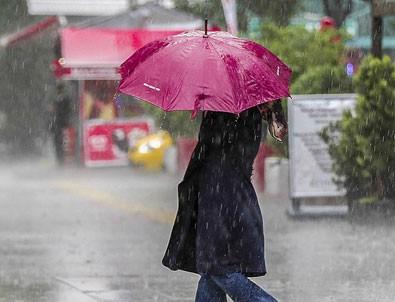 Meteoroloji'den 11 il için kuvvetli yağış uyarısı