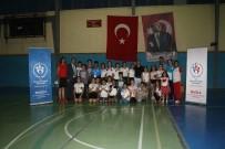 EREN ARSLAN - Milas'ta Çocuklar Aileleriyle Yarıştılar