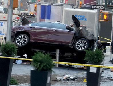 New York'ta terör paniği yaşatan sürücü: Polisin vurmasını bekledim