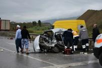 Otomobil Takla Attı Açıklaması 3 Ölü