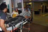 KARAKÖPRÜ - Otomobilini Kavga Ettiği Ailenin Üzerine Sürdü Açıklaması 2 Yaralı