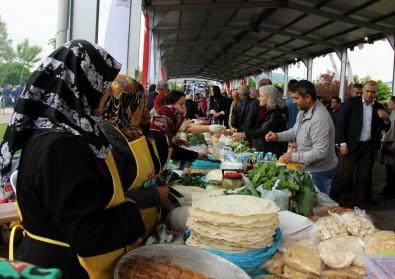 Samsun'da 3. Samsun Yöresel Ot Yemekleri Festivali