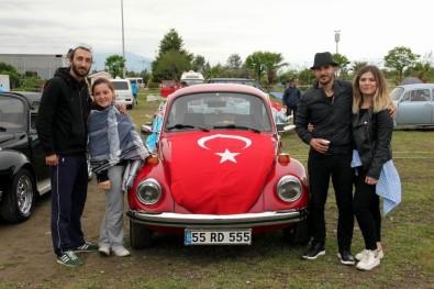 Samsun'da Vosvos Tutkunlarından 19 Mayıs Konvoyu