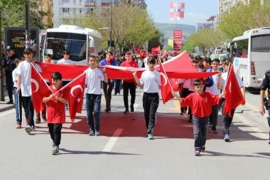 Sivas'ta 19 Mayıs Tekbirlerle Kutlandı