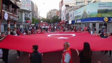 Tekirdağ'da Dev 19 Mayıs Yürüyüşü