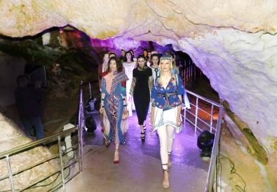Ünlü Mankenler Ballıca Mağarasında Podyuma Çıktı