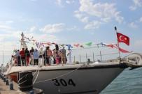 ATATÜRK ANITI - Yerli Üretim Sahil Güvenlik Gemisine Vatandaşlardan Yoğun İlgi