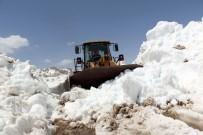 Antalya'da Mayıs Ayında Karla Mücadele
