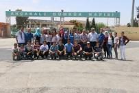 AKÇAKALE SINIR KAPISI - Balıkesirli Öğrencilerden Akçakale'ye Anlamlı Ziyaret