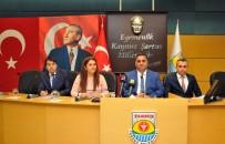 GÜLEK - Başkan Can Açıklaması 'Belediyenin Hakkını Kimseye Yedirmeyiz'