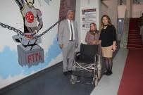 Başkan Şahiner'den Tekerlekli Sandalye Yardımı
