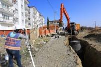 Çardak'a 7 Bin 500 Metre Kanalizasyon Hattı