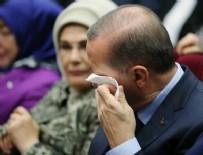 PARTİLİ CUMHURBAŞKANI - Cumhurbaşkanı Erdoğan'ın gözyaşları