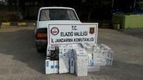 GEZIN - Elazığ'da 3 Bin 200 Paket Kaçak Sigara Ele Geçirildi