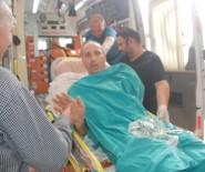 GAZIOSMANPAŞA ÜNIVERSITESI - İş Makinesine Kolunu Kaptıran İşçinin Sol Kolu Omzundan Koptu