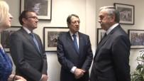 ABDURRAHMAN BULUT - Kıbrıslı Liderler Bir Araya Geldi