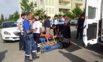 Kilis'te Motosikletle Otomobil Çarpıştı Açıklaması 2 Yaralı