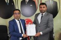 VATANSEVER - MHP Battalgazi İlçe Başkanı Mesut Samanlı Mazbatasını Aldı