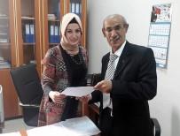 DOKTRIN - MHP İlçe Başkanı Yılmaz Çevik Mazbatasını Aldı