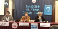 KALENDER - Osman Batur İstanbul'da  Anıldı