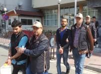 ZEYTINLIK - Samsun'da Iraklı 5 DEAŞ Şüphelisi Adliyeye Sevk Edildi