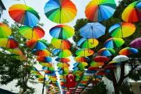 MESİR MACUNU FESTİVALİ - Şemsiyeli Sokak'ta Renk Cümbüşü