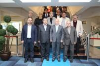 TÜRKIYE YAZARLAR BIRLIĞI - Türkiye Yazarlar Birliği'nden Başkan Sekmen'e Ziyaret