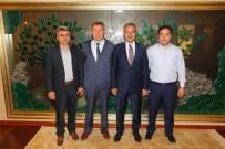 ÜÇTEPE - Üçtepe Belediye Başkanı Köşker'e Konuk Oldu