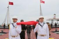 ONDOKUZ MAYıS ÜNIVERSITESI - Atatürk'ü Temsil Eden Bayrak Karaya Çıktı