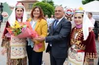MEHTERAN TAKıMı - Başkan Çerçioğlu, Sultanhisar Çilek Festivaline Katıldı