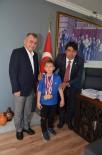 KARATE - Başkan Demirağ, Karateci Şampiyonu Misafir Etti