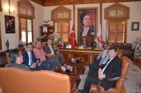 TÜRK STANDARTLARI ENSTİTÜSÜ - Başkan Yağcı'ya Bursa Türk Standartları Enstitüsü Çalışanlarından Ziyaret