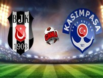 SERKAN ÇıNAR - Beşiktaş Kasımpaşa'ya gol oldu yağdı