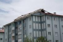 HASAR TESPİT - Erciş'te Fırtına Yıktı Geçti
