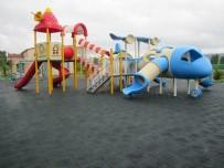 TERMAL TURİZM - Esire Termal Turizm Merkezi Çocuk Oyun Grubu Zeminine Kauçuk Kaplama