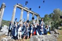 PAMUKKALE ÜNIVERSITESI - Euromos Antik Kentinde Arkeoloji Öğrencilerinin Kep Sevinci