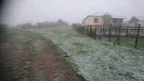YAĞIŞLI HAVA - Giresun'da Mayıs Ayında Yaylalara Kar Yağdı