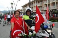BELEDİYE ÇALIŞANI - Marmaris Belediyesi Bisiklet Yolu Halkın Hizmetine Açıldı