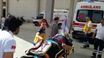 Nazilli'de Trafik Kazası Açıklaması 1 Yaralı