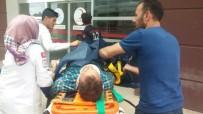 ADıYAMAN ÜNIVERSITESI - Otomobil İle Motosiklet Çarpıştı