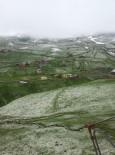 Rize'de Kar Yağdı.