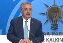 SIYASI PARTILER KANUNU - Yazıcı'dan 'Tüzük Değişikliği' Açıklaması