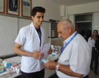 ÜCRETSİZ İLAÇ - Yüzlerce Tıp Öğrencisi Hastaneyi Köye Taşıdı