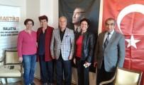 YENİ MALATYASPOR - Ankara Elazığlılar Derneği'nden MASTÖB'e Tebrik Ziyareti